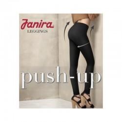 Μαύρο γυναικείο κολάν Janira push up για σύσφιξη και ανόρθωση των γλουτών, κοιλιάς, και γενικά της περιφέρειας.