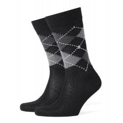 Αντρική κάλτσα Burlington Preston με μοτίβο ρόμβου (argyle).
