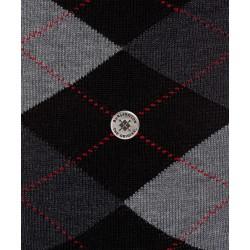 Burlington αντρική κάλτσα με ρόμβο (argyle).